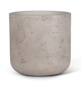 "XLarge Grey Quarry Pot D12.5"""