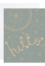 Starry Hello Card
