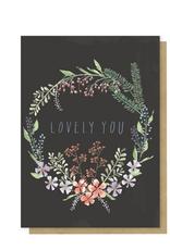 Watercolour Garden Card