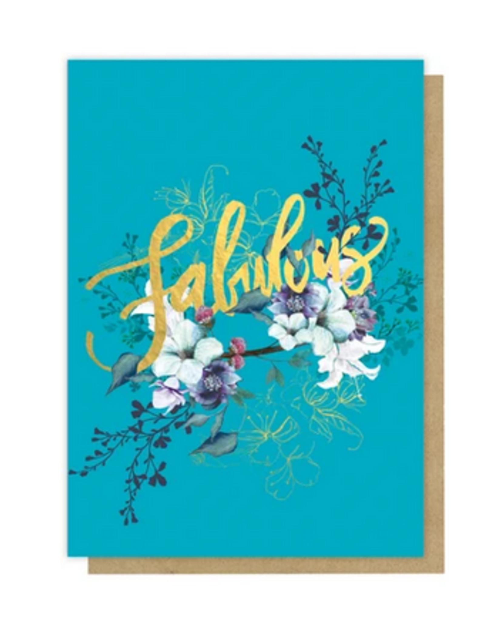 Jewel Flower Card