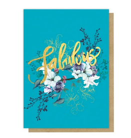 Jewel Flower Card