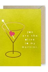 Martini Heart Card