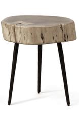 Sierra Side Table - Acacia Wood & Iron
