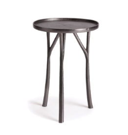 Edison Cast Aluminum Black Table