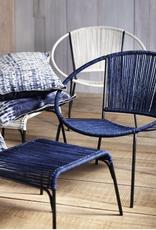 Robson Indigo Iron & Cotton Chair
