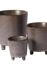 """Malcolm Footed Pot 2.75X 3"""""""