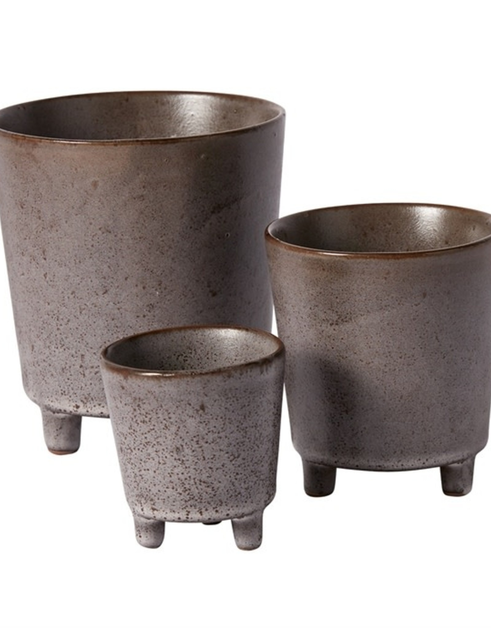 """Malcolm Footed Pot 5.25x5.75"""""""