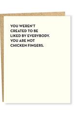 Chicken Fingers Card