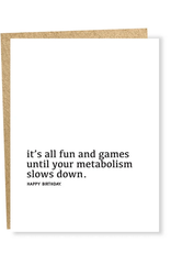 Metabolism Card
