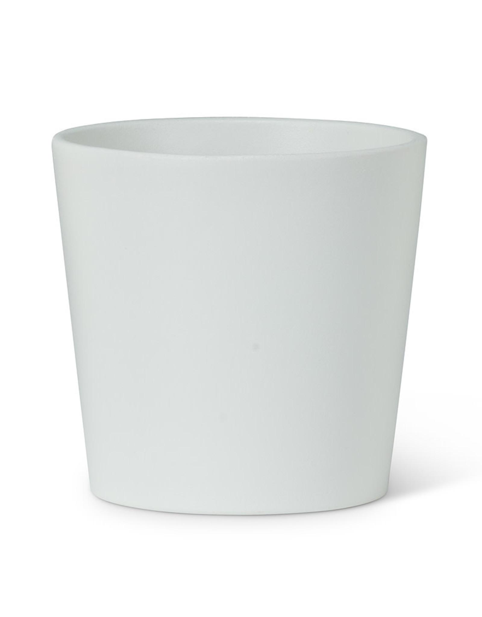 """Medium White Stockholm Classic Taper Planter H5"""""""