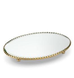 "5x7.5"" Oval Mirror Tray"