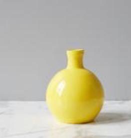 Round Yellow Vase - Reg $99 Now $49