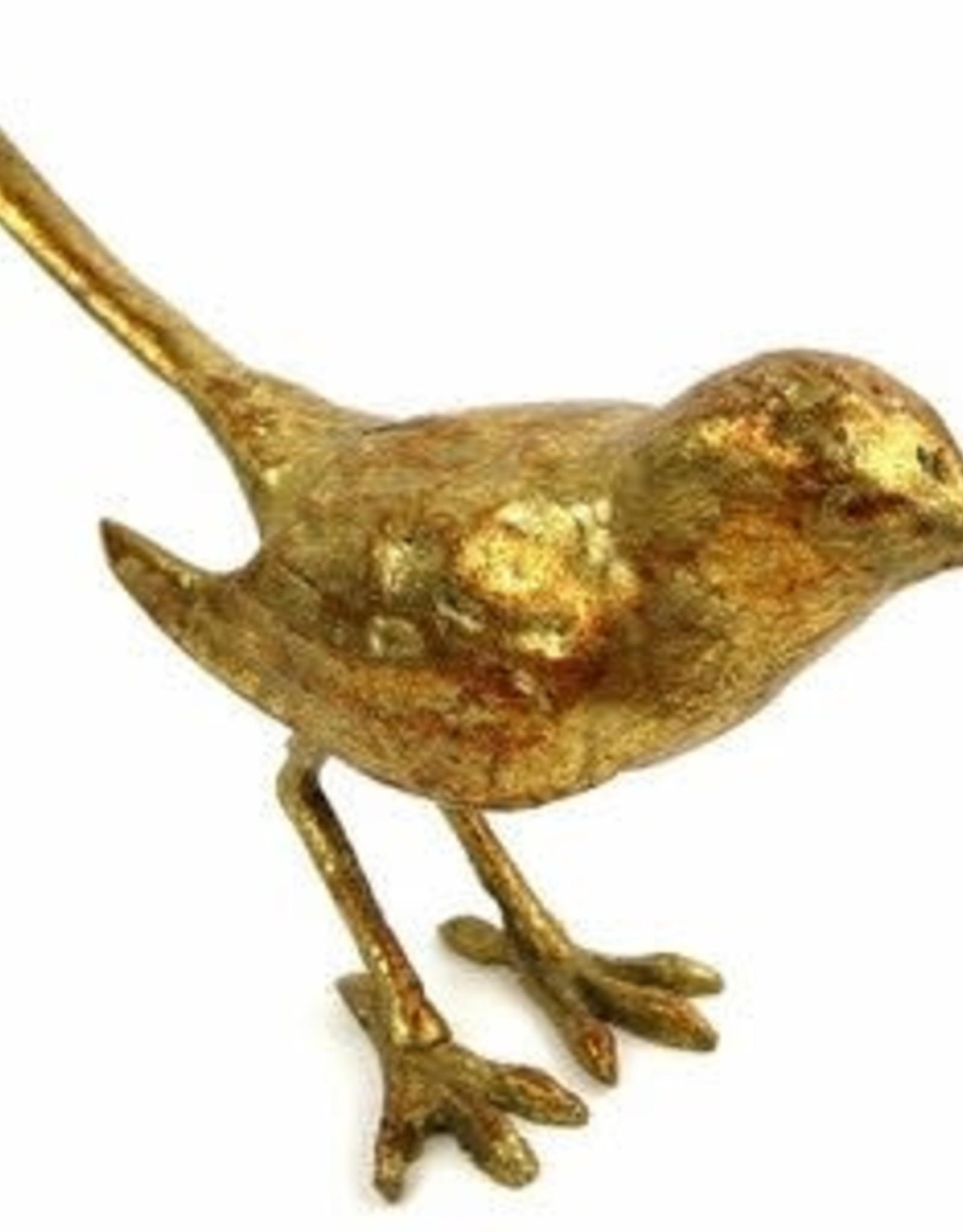 Cast Iron Gold Leaf Bird - Reg $17 Now $8