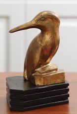 Gold Kingfisher Bird - Reg $99 Now 39