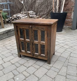 """Small Vintage Wooden Cabinet L29 x W 16.5 x H29.5"""""""