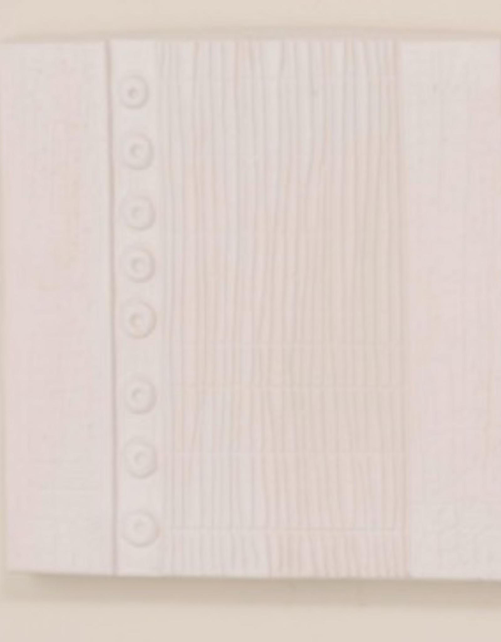 Petra Multi Circles Wall Panel - Matte White