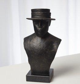 Top Hat Flat Brim Sculpture