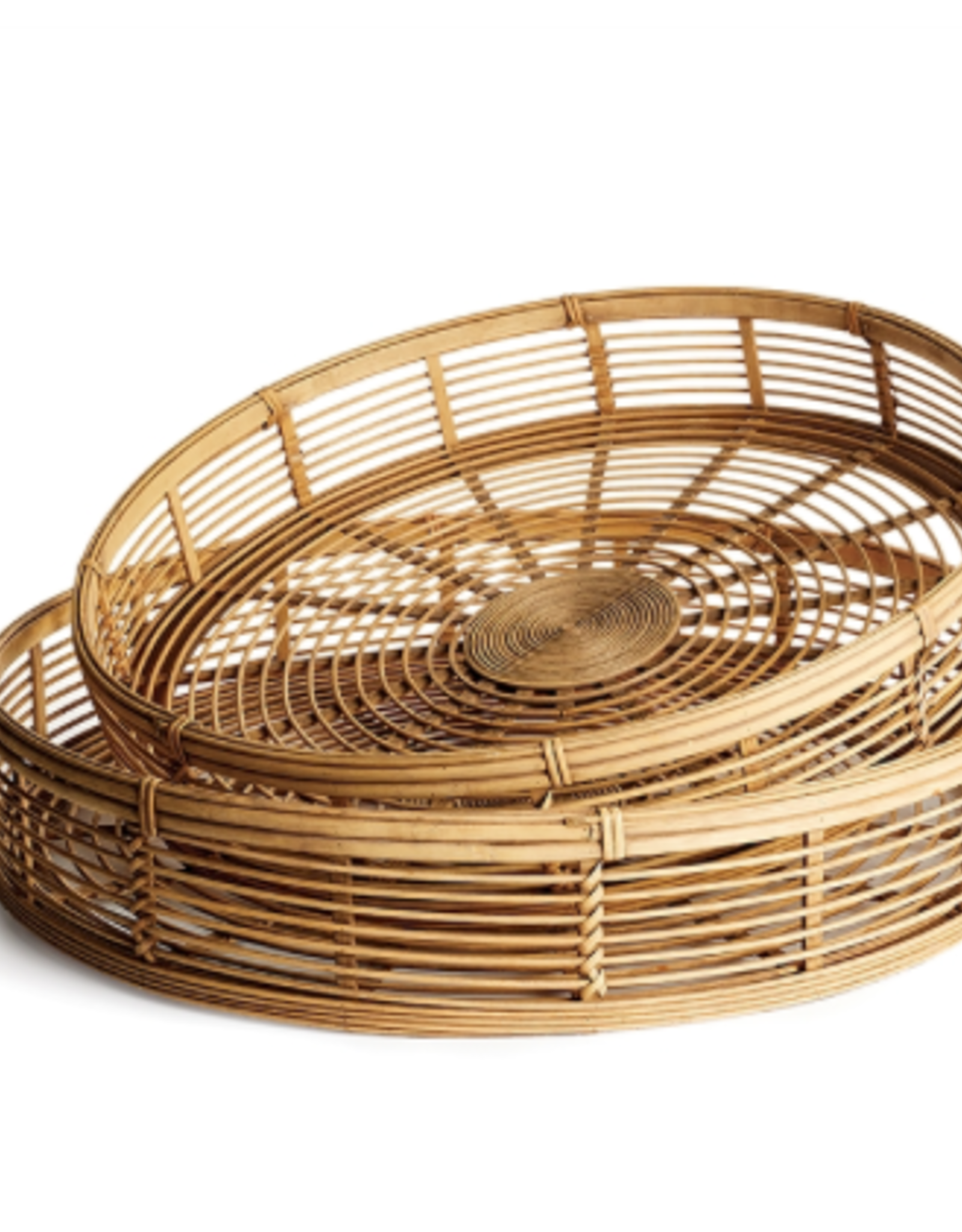 Small Blonde Natural Bamboo Tray