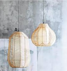 Tall Ariel Rattan Pendant Light - Reg $380 Now $199