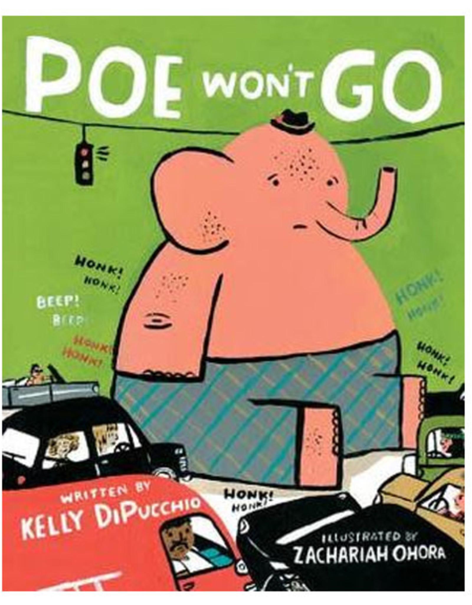 Poe Won't Go Book