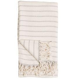 Mist Striped Bamboo Towel
