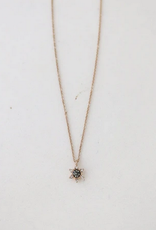 Starlit Necklace - Black Diamond