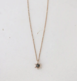 Black Diamond Starlit Necklace