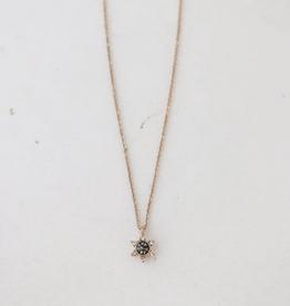 Starlit Necklace - Black Diamond