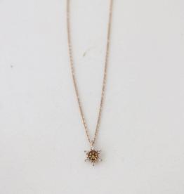 Light Topaz Starlit Necklace