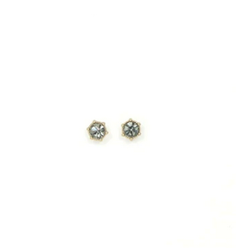 Astrid Earrings -  Black Diamond