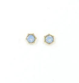 Astrid Earrings - Blue Opal