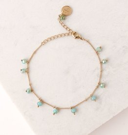 Dot Crystal Bracelet Sea
