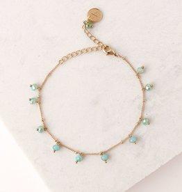 Sea Dot Crystal Bracelet