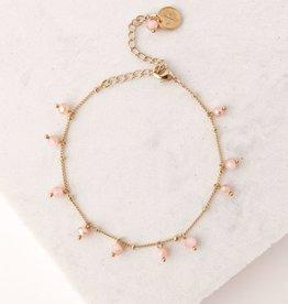Blush Dot Crystal Bracelet