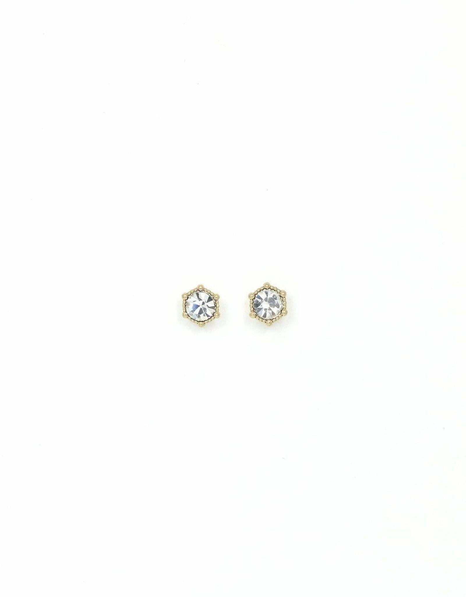 Astrid Earrings - Clear