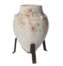 """Tuscan Urn on Stand 13x12.25x16.75"""""""