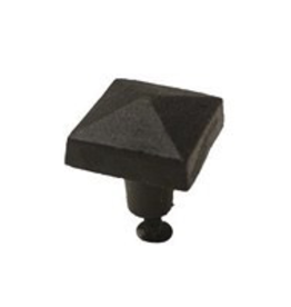 Large Square Cast Iron Knob