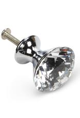 Flat Cut Crystal Knob