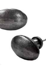 Antique Metal Oval Knob