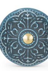 Scroll Texture Blue Knob