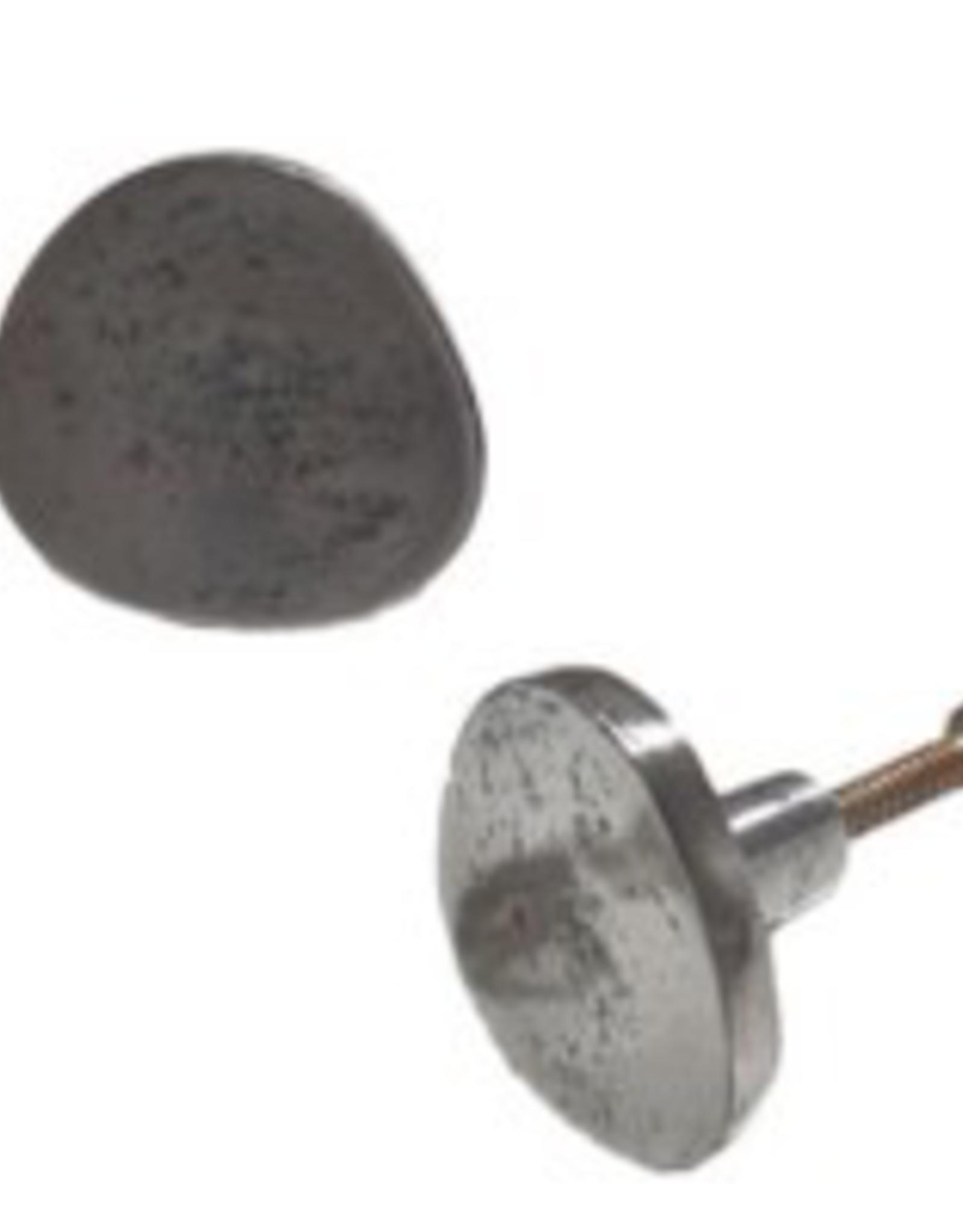 Flat Iron Antique Metal Knob