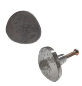 Flat Iron Antique Metal Knob