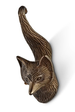 Antique Brass Fox Tail Hook