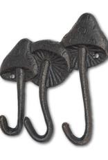Mushroom Triple Hook