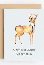 Best Bucking Dad Card