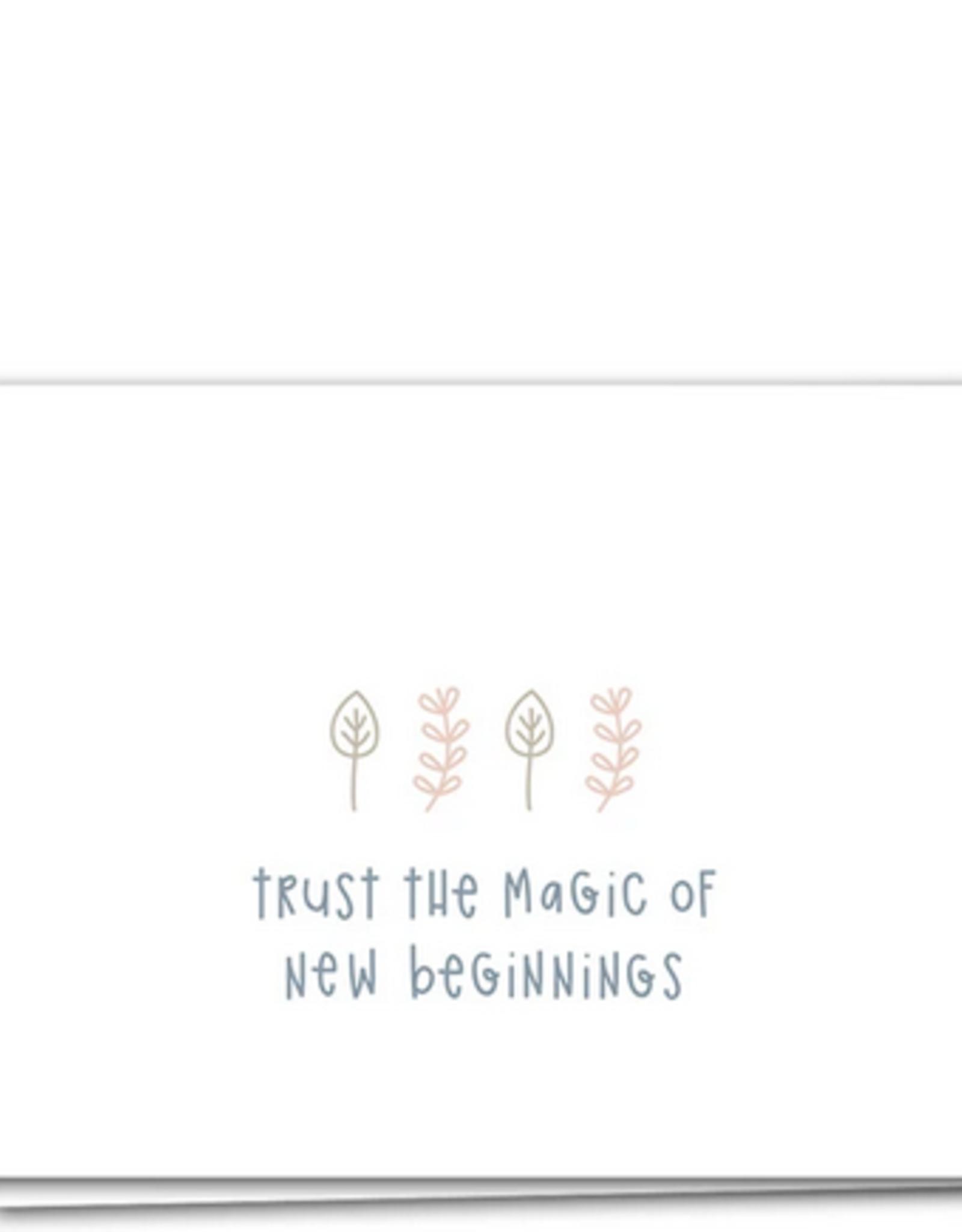 Trust the Magic Card