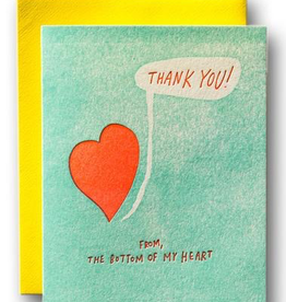 TY from the Bottom Of My Heart Card