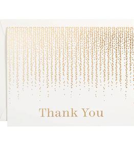 Chandelier Foil Thank You Card