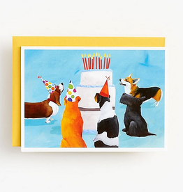 Dog Birthday Party Card