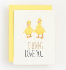 Ducking Love You Card
